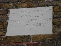 Bradbury Plaque