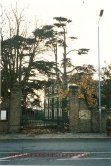 Boston Manor House Emergency Gates