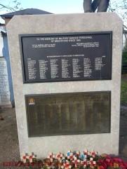 Second World War Memorial and Post-1945 Memorial