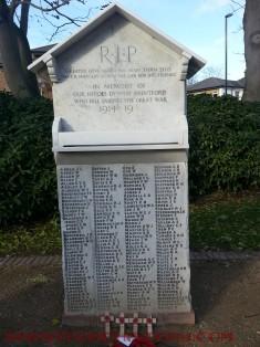 First World War Memorial