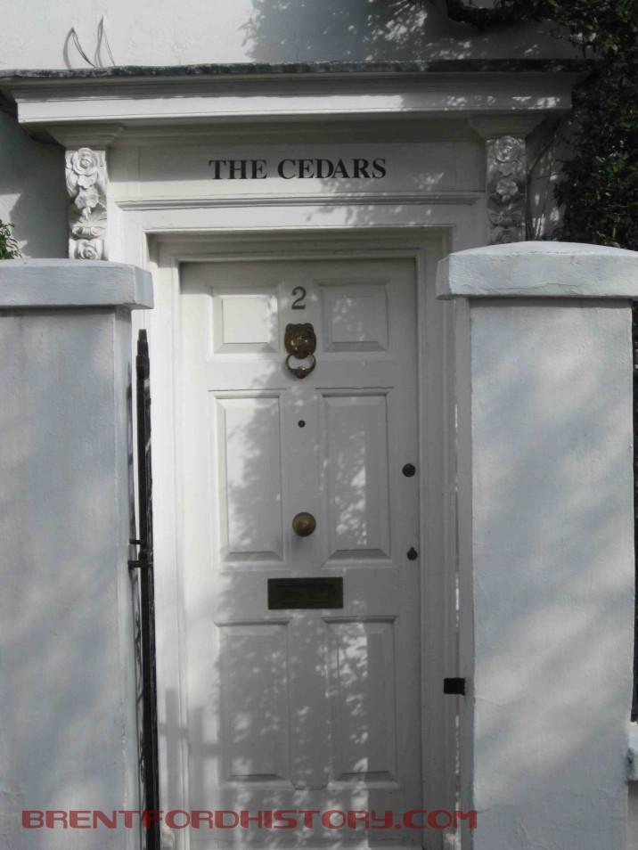 2 Upper Butts, front door