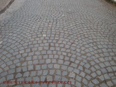 Dock Road Cobbles or Sets, in fan pattern