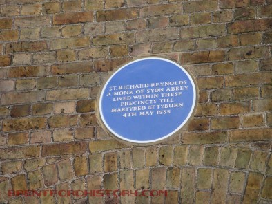 Blue Plaque, Syon House