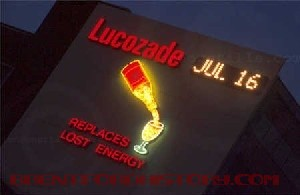 Lucozade Advert