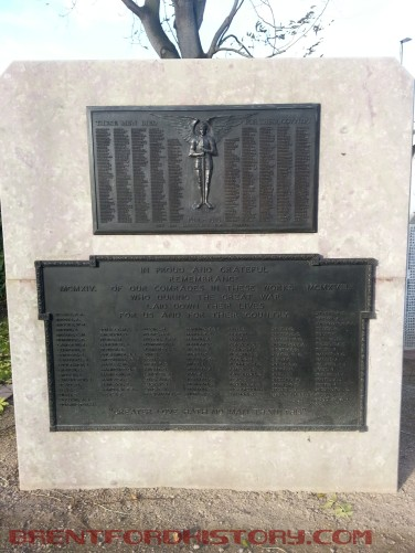 First World War memorials