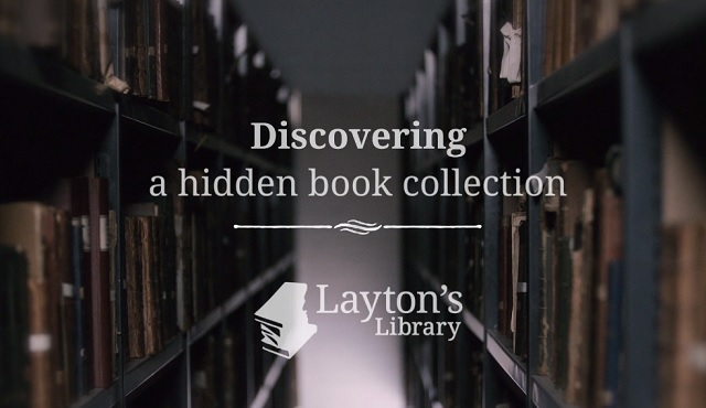 Layton's book collection