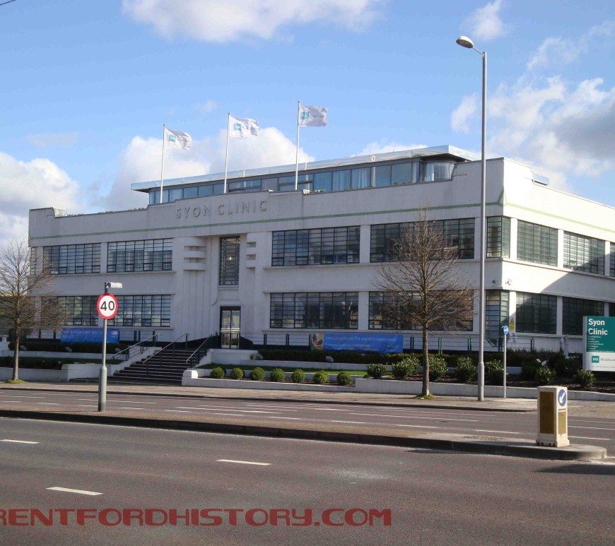 BMI Syon Clinic, former Coty factory