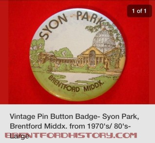 Syon Park Pin Button