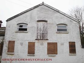 White warehouse